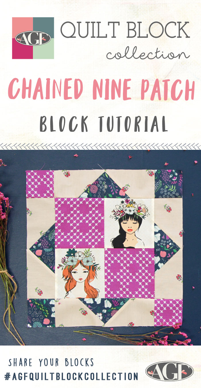 How-to-make-a-Chained-Nine-Patch-Block