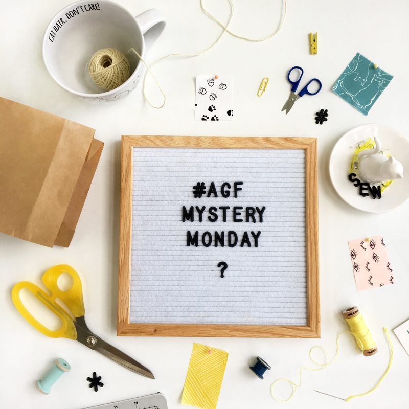 #AGFMysteryMonday