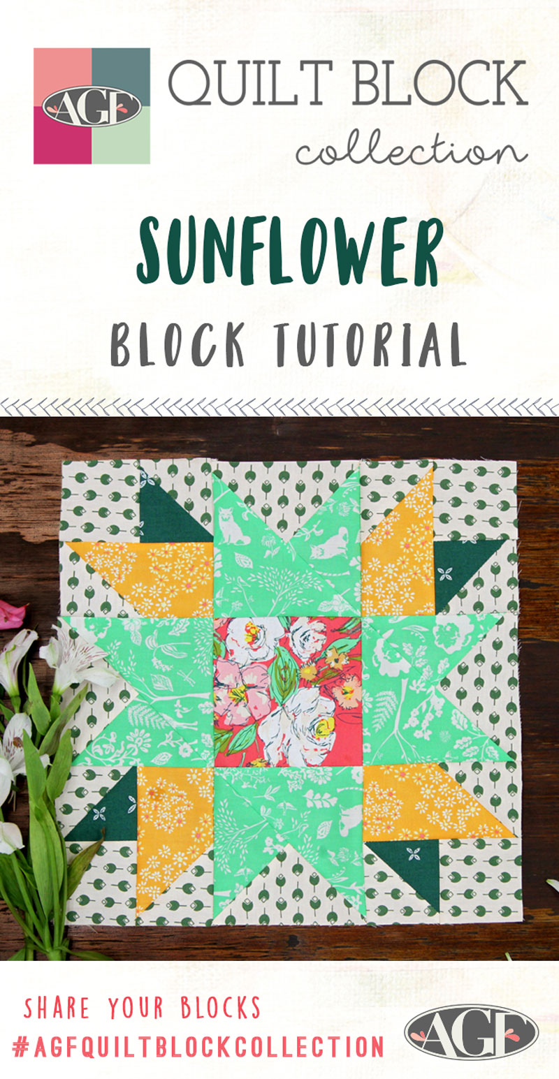 Sunflower-Block-Tutorial