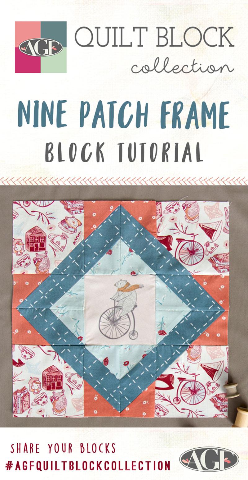 How-to-make-a-Nine-Patch-Frame