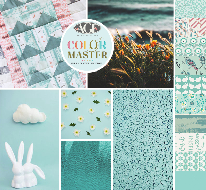 Fresh Water  mood board