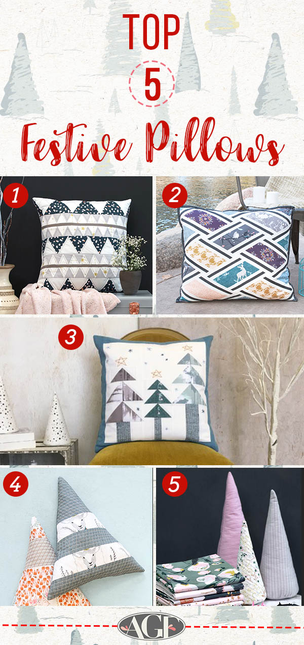 Festive pillows