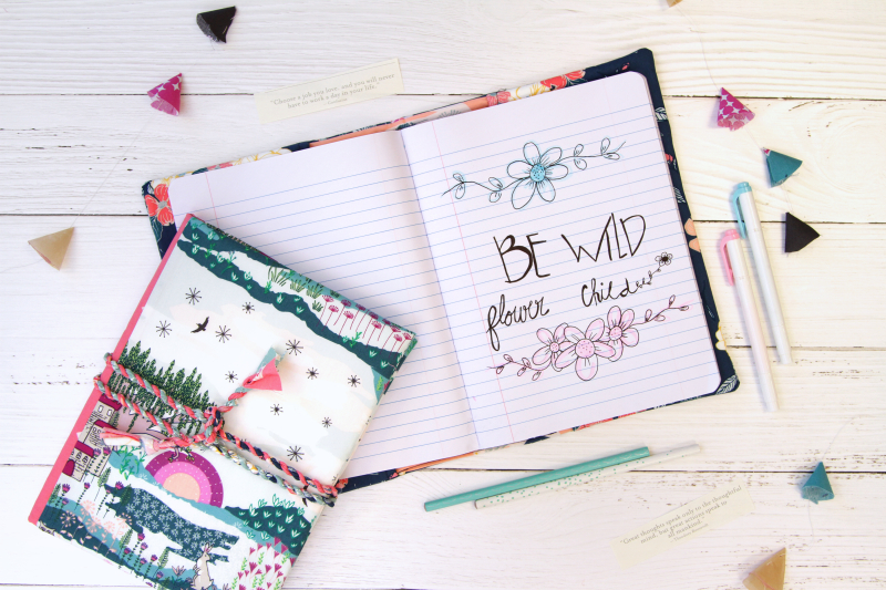 Flower Child Journal Cover 2