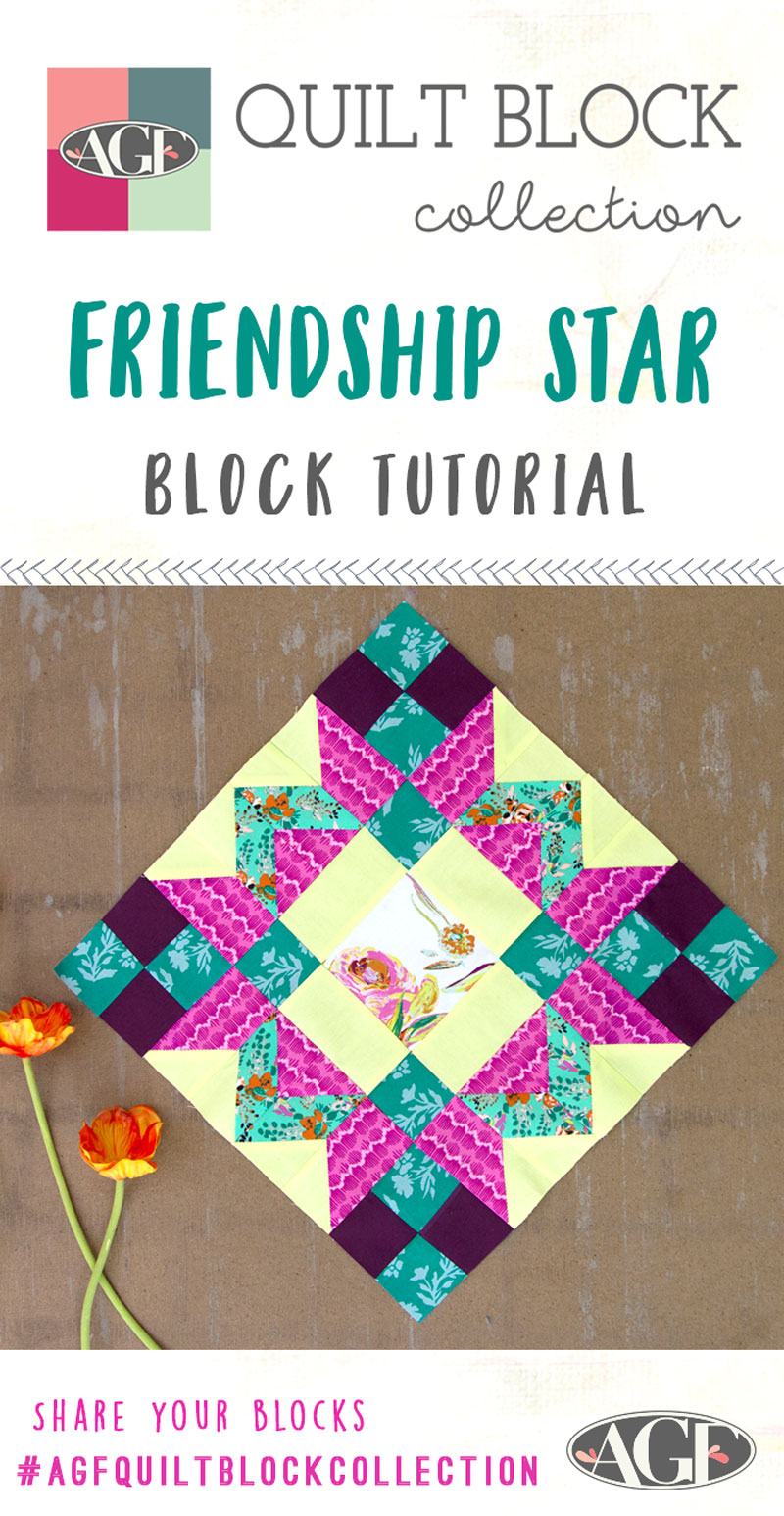 Friendship-Star-Block-Tutorial