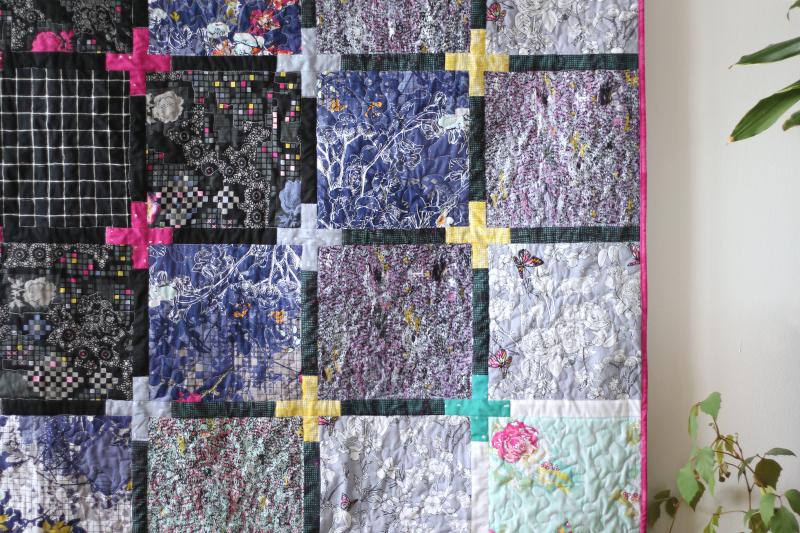 Grid Nina's Free Quilt 4