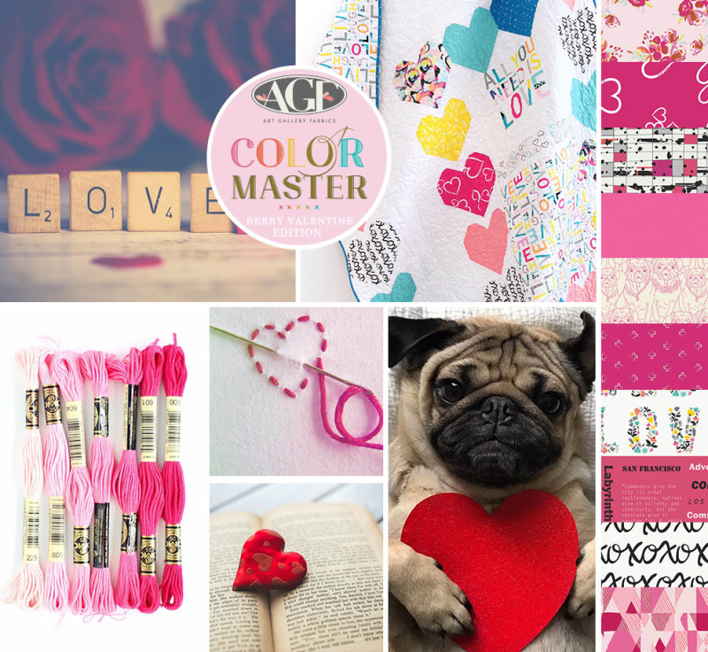 Color mood board