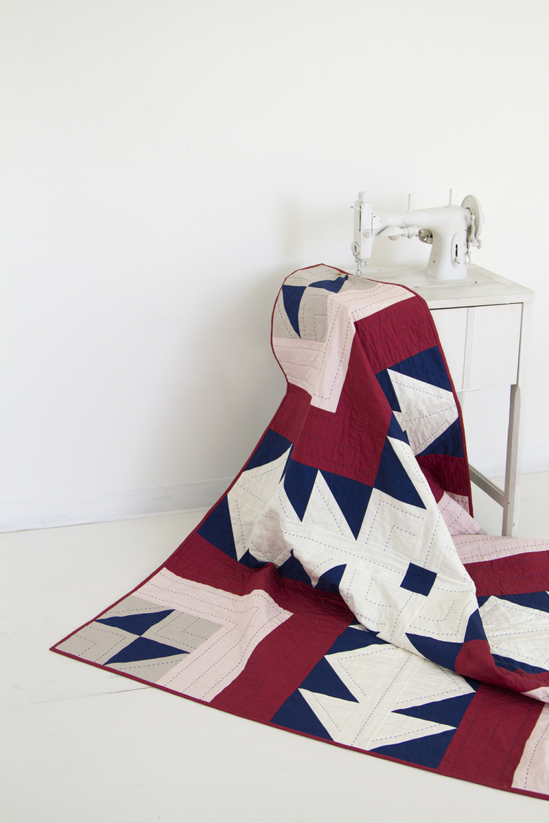 Pure Solids Quilt 1 8