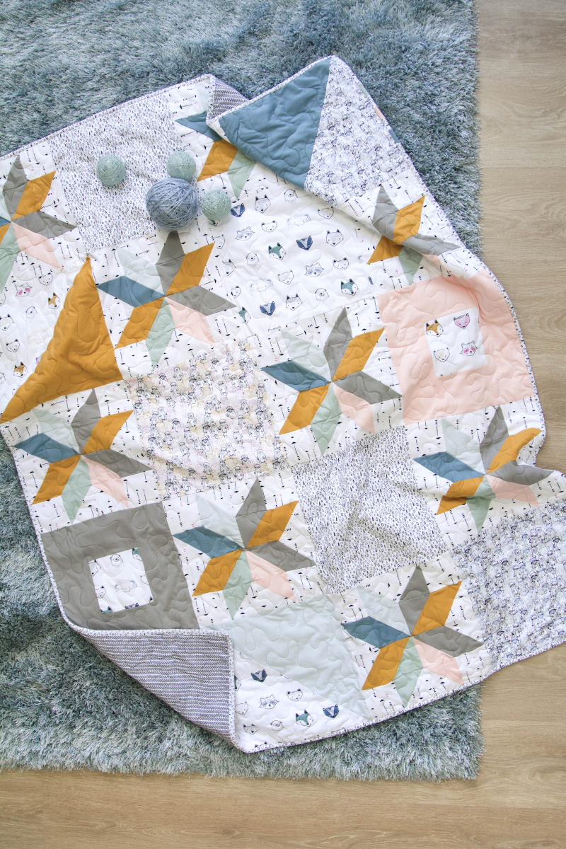 Capsules Pine Lullaby Quilt Free 1