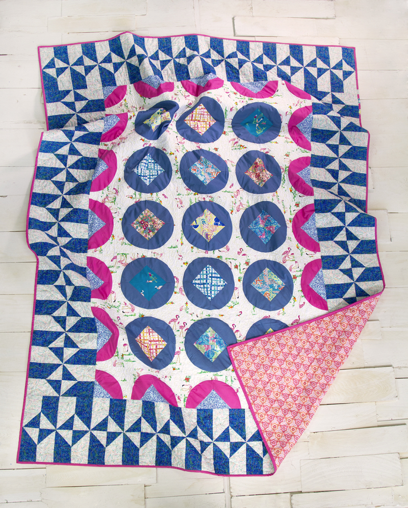 West Palm Fabric Free Quilt 1