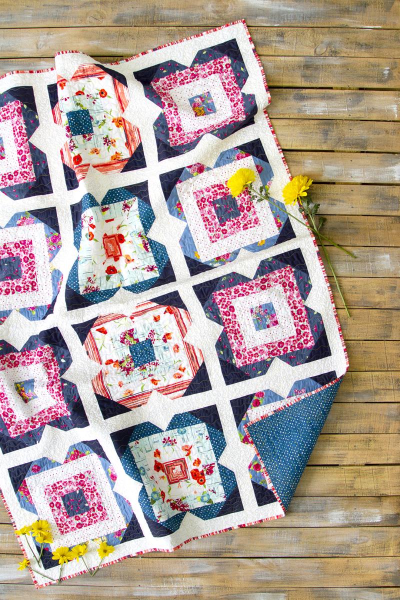 Floralish Quilt Free 2