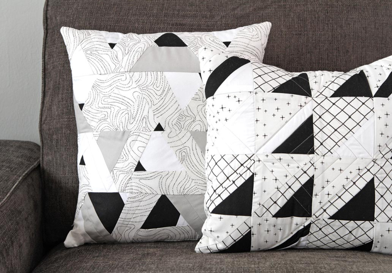 Capsules Raise the Volume Quilt & Pillows 3