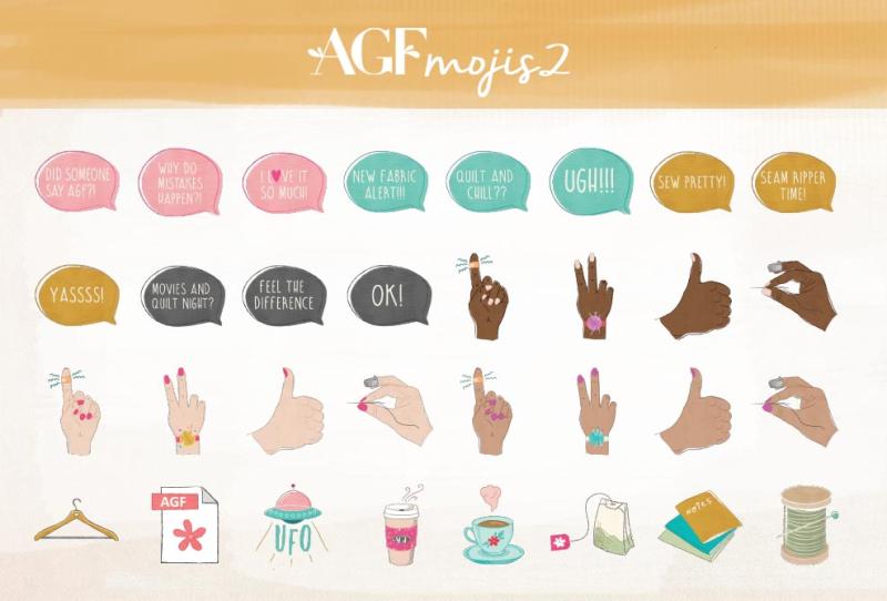 AGFmoji Chart 2