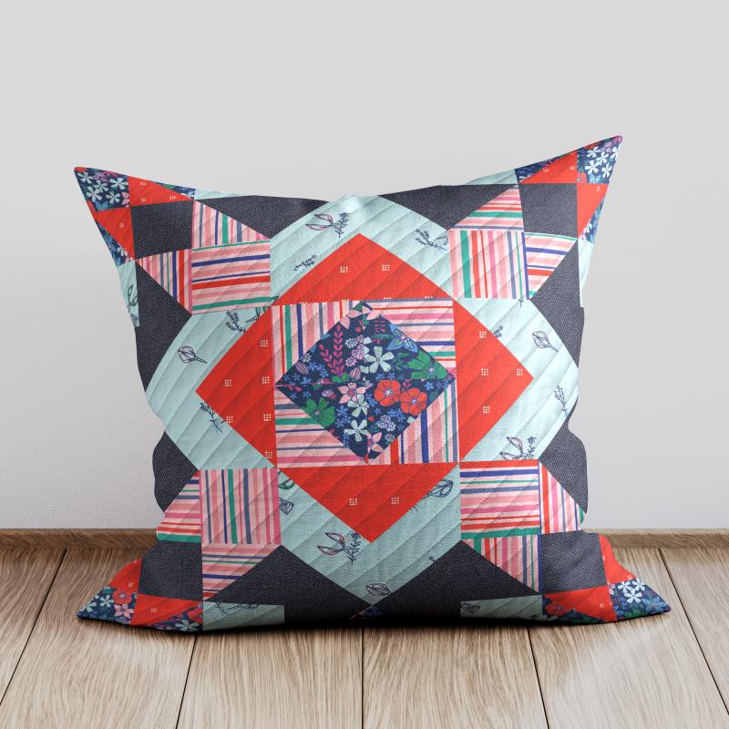 Free Pillow Mockup 2-
