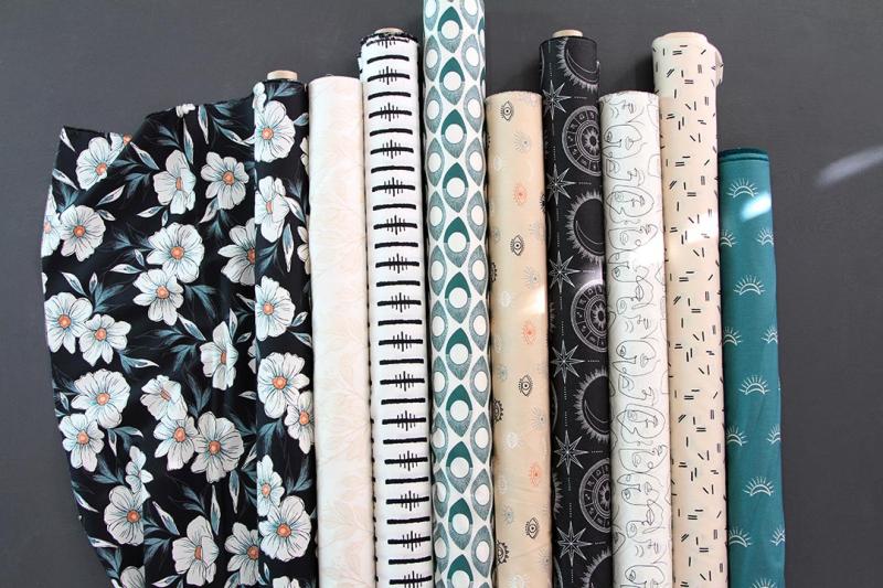 Luna & Laurel Fabric Rolls 2 copy