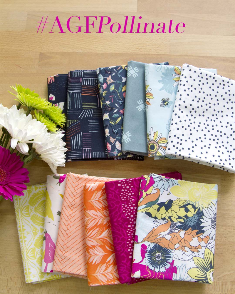 Pollinate Fabric Bundle (10)