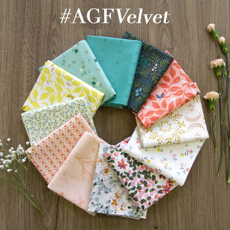 Velvet Fabric bundle 1 BLOG
