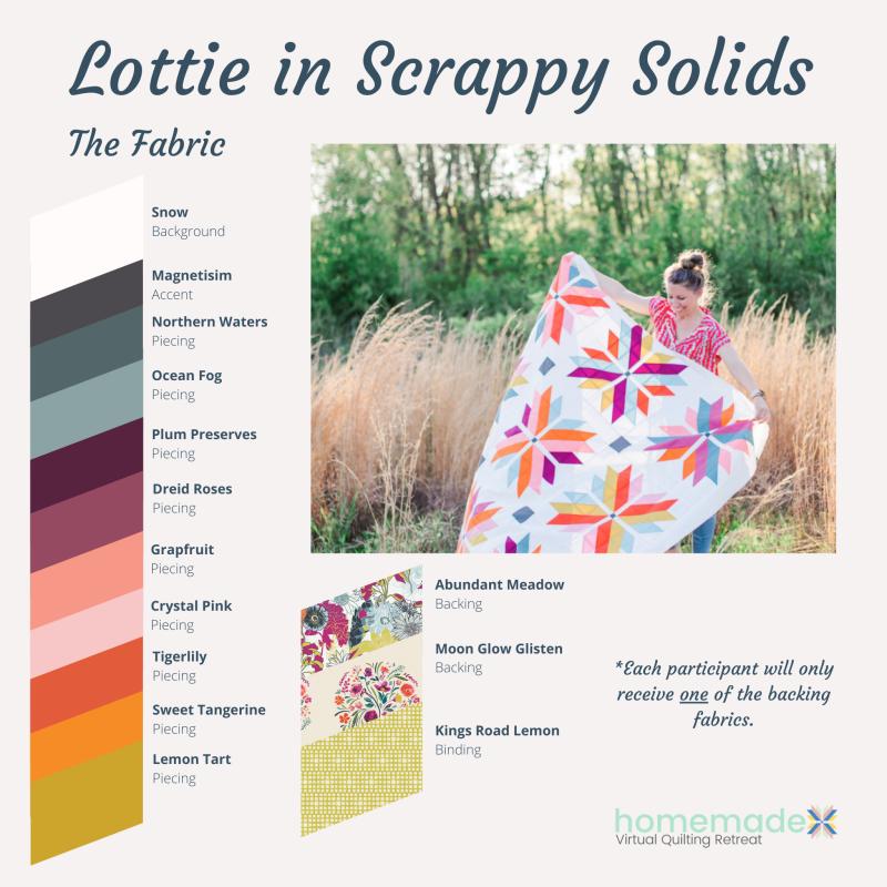 Fabric 5 Scrappy Solids