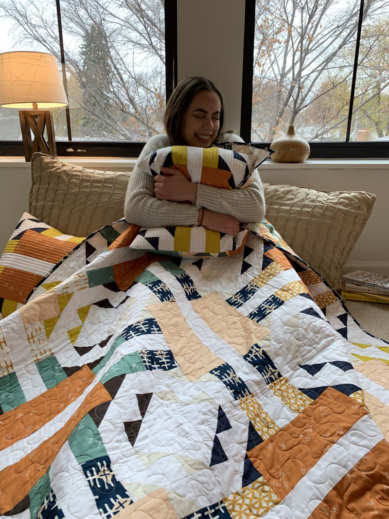 Turn to Me Quilt