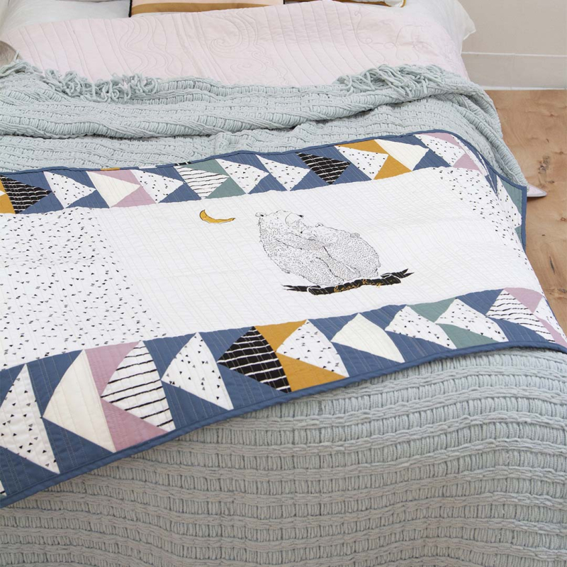 Pine Lullaby Rediscovered Bed Runner 7 BLOG