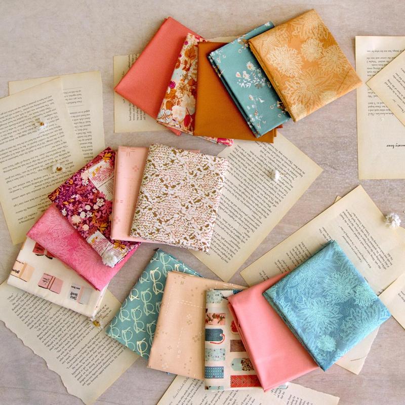 Bookish Fabric 4