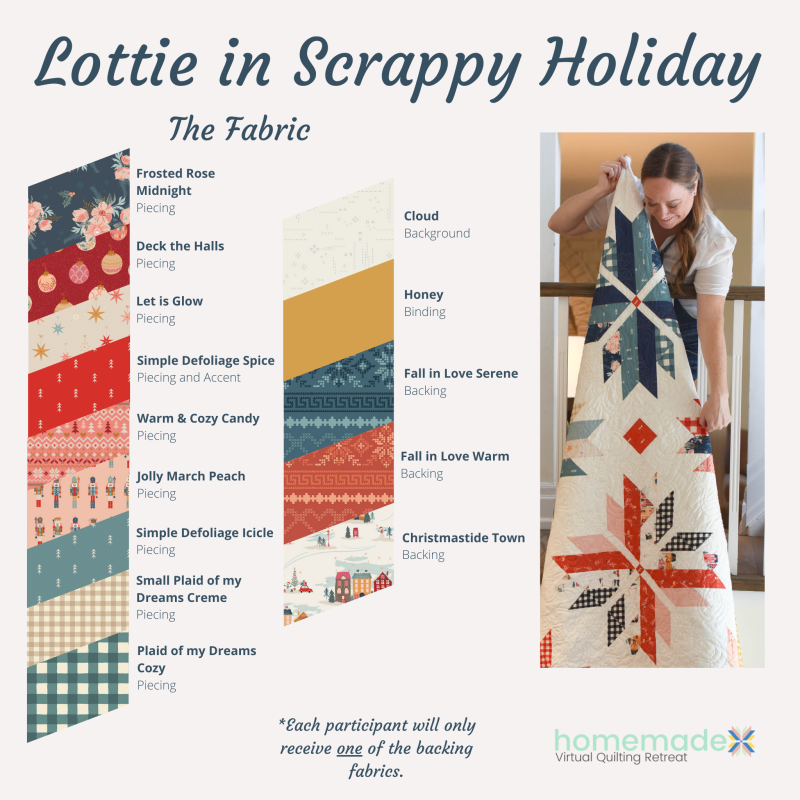 Fabric 4 Holiday Fabrics