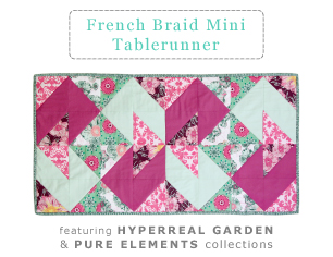 French Braid Mini Tablerunner