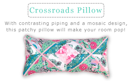 Crossroads Pillow