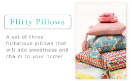 Flirty Pillows
